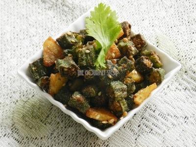 How to Make Fried Aloo & Bhindi Sabzi | Magic of Indian Rasoi