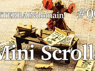 How to Make Miniature Scrolls -- MTD #003