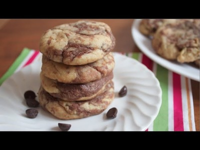 How to make Peanut Butter Nutella Cookies