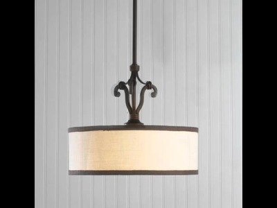 How to Update a Chandelier with New Shades