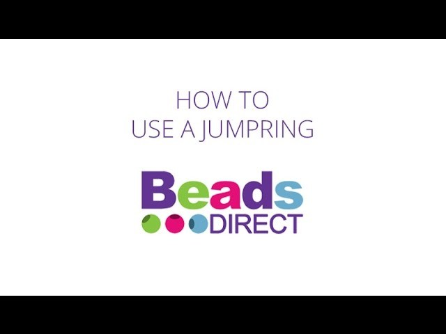 How to Use a Jumpring | Jewellery Making Basics | Beads Direct