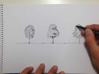 Linescapes: How to draw a tree