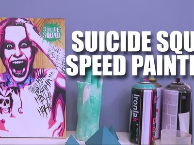 Mad Stuff With Rob - Suicide Squad Speed Painting