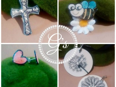 Maymay made it design team video: Make Jewellery from your stamp sets DIY.Tutorial