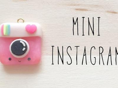 Mini Instagram Charm - Polymer Clay Tutorial