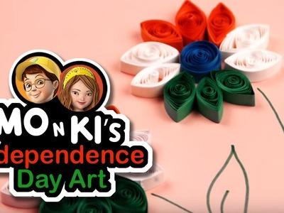 Mo n Ki's Independence Day Art - Worldoo