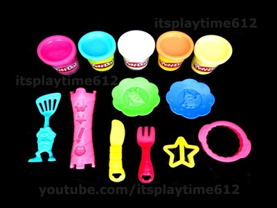 Play-Doh CAKE PARTY Creative Activity FOR LITTLE KIDS | itsplaytime612