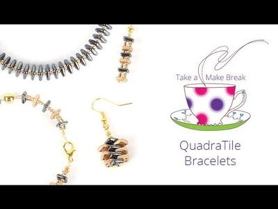QuadraTile Bracelets   Take a Make Break with Sarah