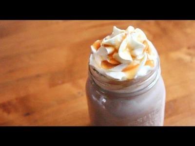 Quick & Easy Caramel Hot Chocolate | SweetTreats