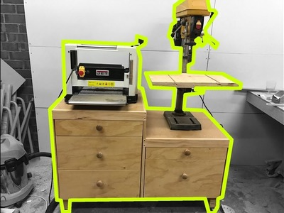 Split Level Workbench With EASY Drawers Part 2.2