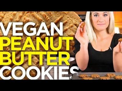 Vegan Peanut Butter Cookie Recipe | The Edgy Veg