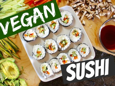 Vegan Sushi | Cooking With Mandarin