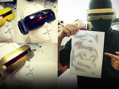 #118.4: X-Men Cyclops Part 4 - Three Different Color Schemes | Costume Prop How To | Dali DIY