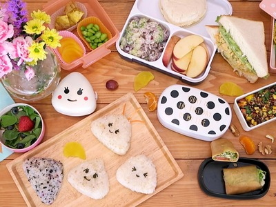 Back to School Healthy Lunchbox Ideas