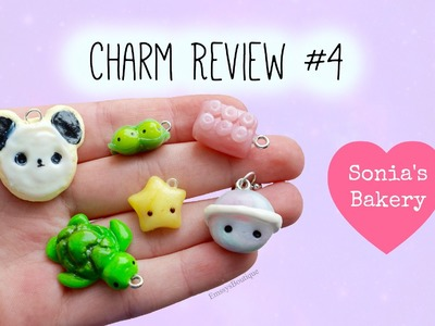 Charm Review #4 ~ Sonia's Bakery | Kawaii Polymer Clay Charms