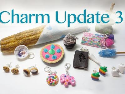 Charm Update #3 + Etsy Shop Open!