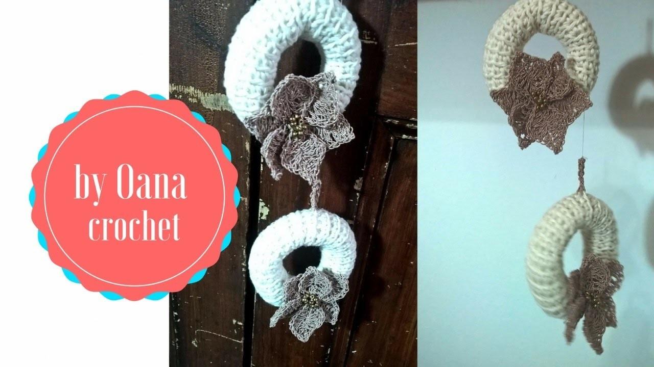 Crochet fancy Christmas decorations by Oana