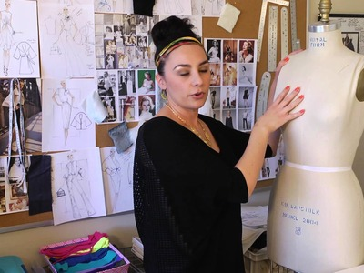 Dress Forms Used by Fashion Students : Fashion Design for Beginners