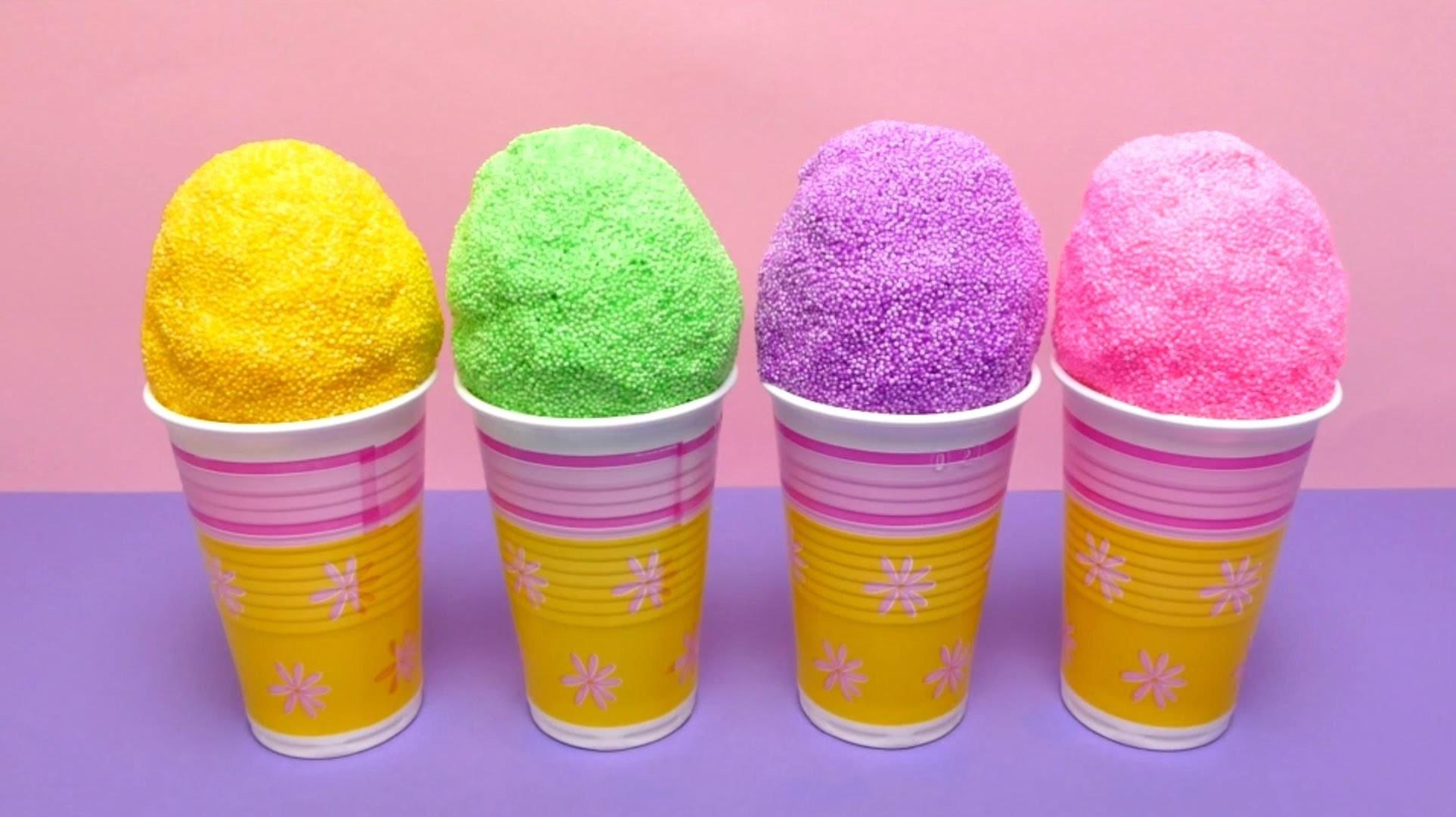 Fancy Foam Clay Surprise Eggs for Kids (Hello Kitty, Star Wars Sticker, Minion & Spider)