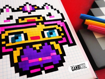 Handmade Pixel Art - How To Draw Kawaii Unicorn Girl #pixelart