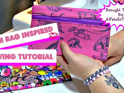 How To: Glam Bag Inspired Clutch