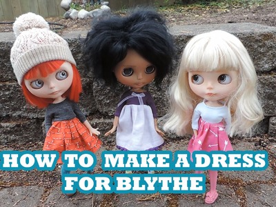 How To Make a Dress for blythe - Part 3