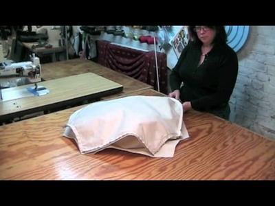 How To Make A Pillow Back Slipcover.m4v