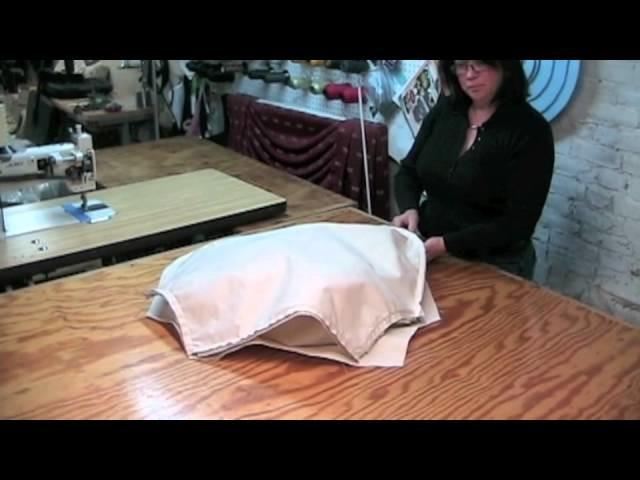 How To Make A Pillow Back Slipcover.m4v