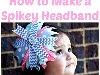 How to Make a Spikey Headband