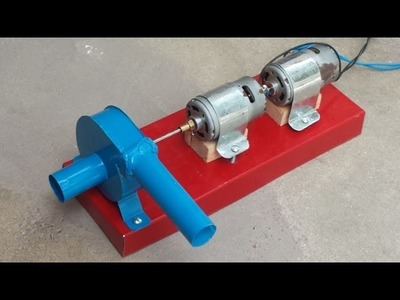 How to make Dual Motor High Power Water Pump (Closed Impeller Design)