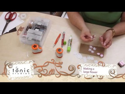 How to Use Petal Pairs Punches -Tonic Studios Tutorial - Jodie Johnson