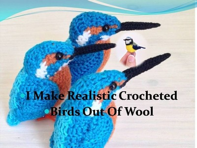 I Make Realistic Crocheted Birds Out Of Wool