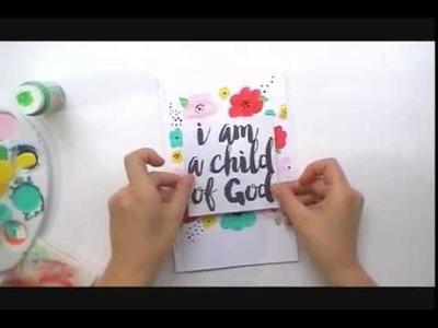 Illustrated Faith  Kids Club Daily Devotional Art Journal!