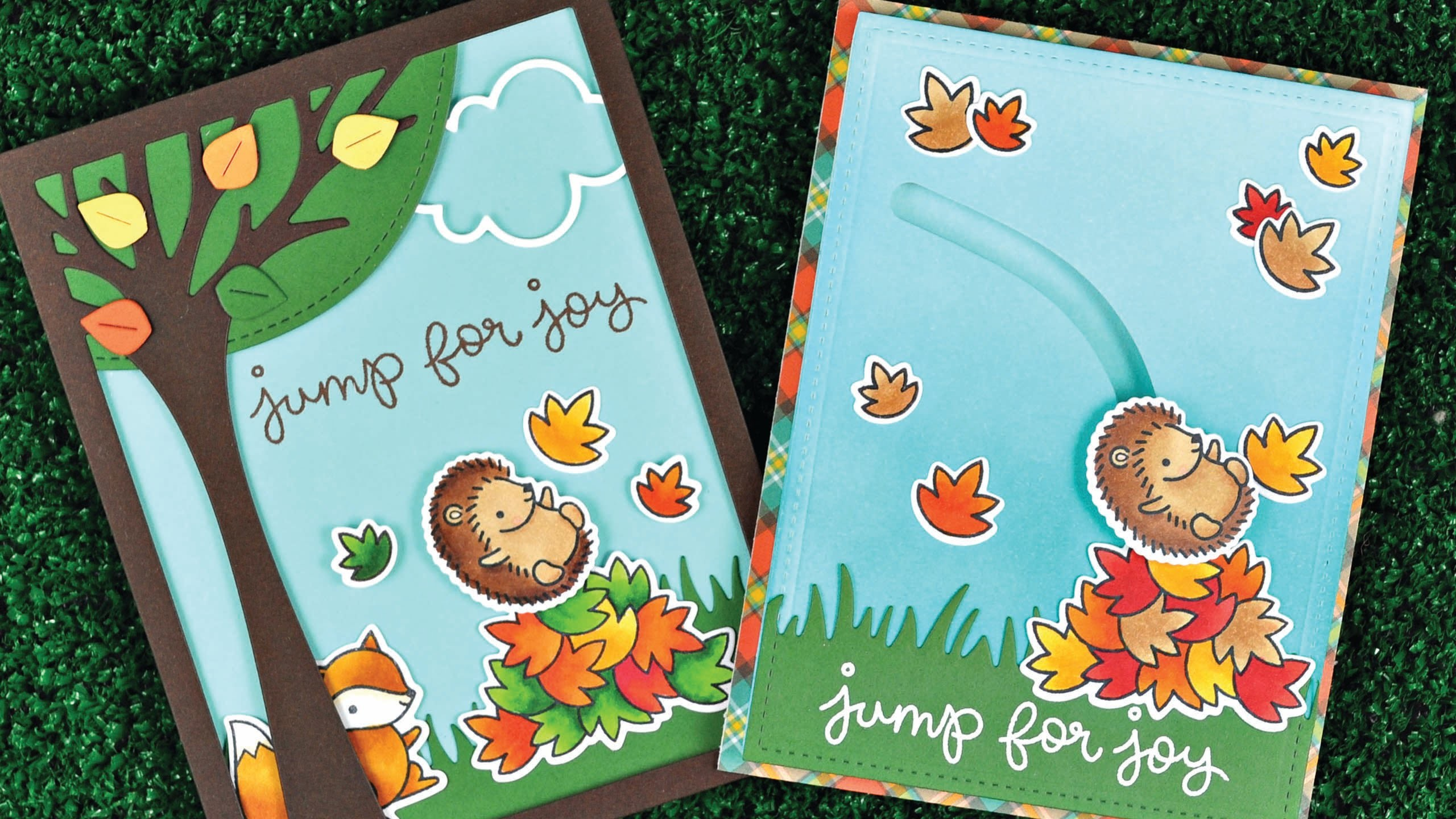 Intro to Jump for Joy + 2 cards from start to finish