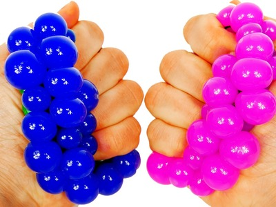 Learn Colors with Squishy Balls for Toddlers Kids and Children
