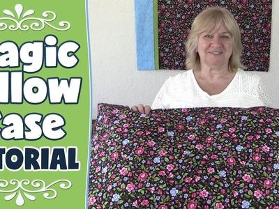 Magic Pillowcase Tutorial (AKA Roll Up Pillow. Burrito Pillow)