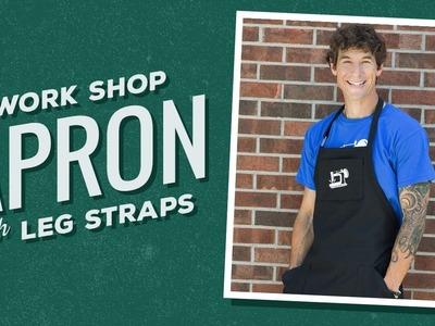 Make a Workshop Apron with Leg Straps