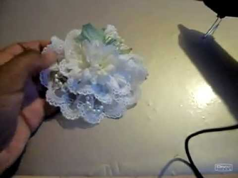 Making a very quick flower - Craftbrulee