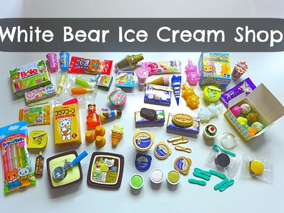Megahouse Miniature: White Bear Ice Cream Shop (Complete)