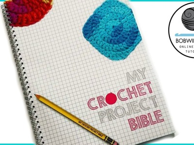 My crochet project bible review from Stationery Geek - giveaway ENDED