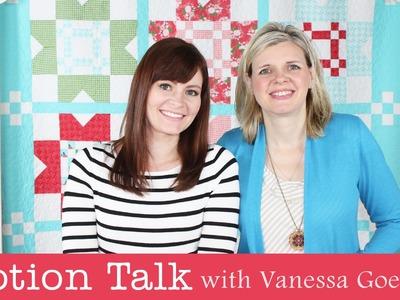 Notion Talk with Vanessa Goertzen's featuring her Favorite Notions - Fat Quarter Shop