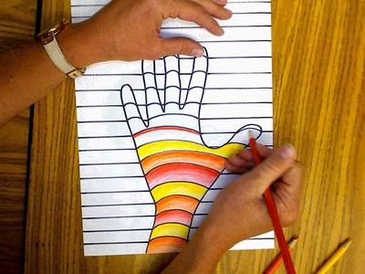 Op Art Hand Day 2