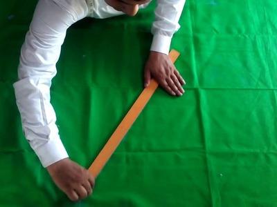 Patyala salwar cutting (part-1)