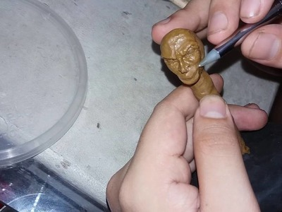 Polymer Clay Sculpture - Joker from Suicide Squad - Polymer Clay Art