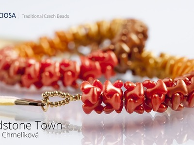 Sandstone Town - Jewelry set made from PRECIOSA Tee™ beads