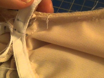 Sewing bras  inserting the wire  Kwik sew 3594