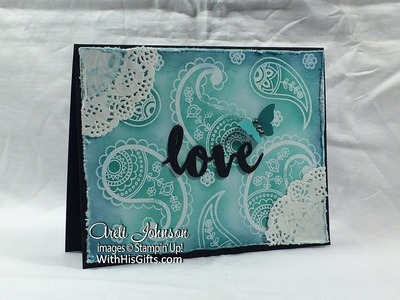 Stampin' Up! Paisleys & Posies in Love