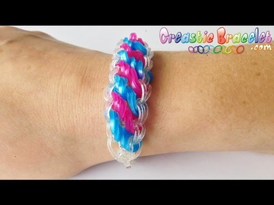 Tutoriel Creastic Bracelet Rotini