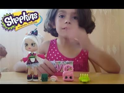 WATCH Shopkins Sara Sushi - Series 2 Beautiful Shopkin Girl NeW VIDEO