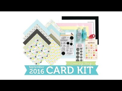 Birthday Surprise: Simon Says Stamp Card Kit Reveal and Inspiration